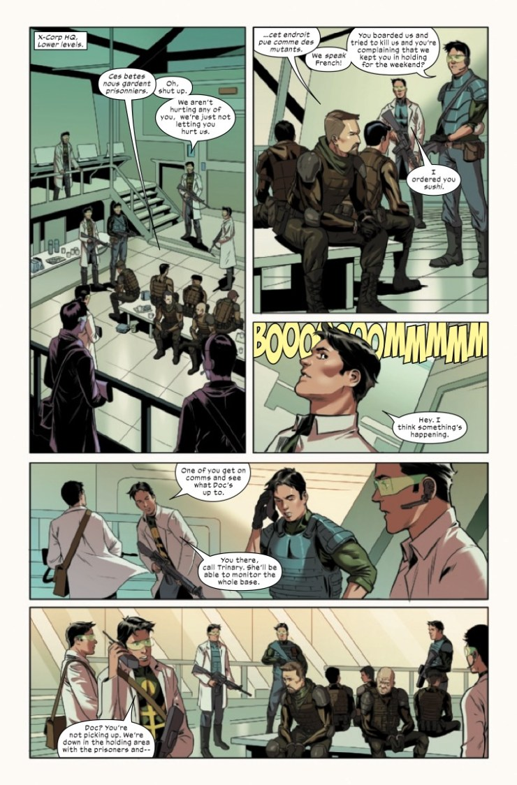 Marvel Preview: X-Corp #5