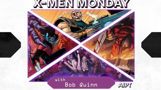 X-Men Monday #124 - Bob Quinn Talks 'X-Men: The Onslaught Revelation,' Channeling the '90s, Soft Serve and More