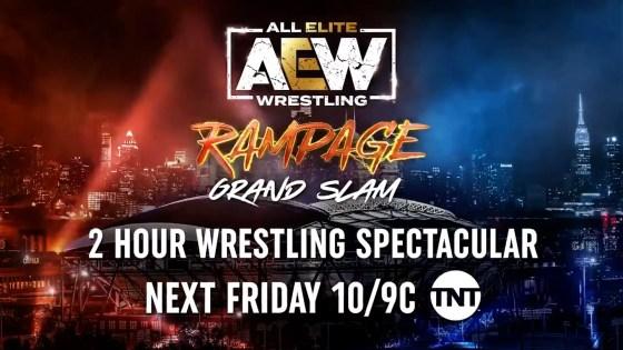 AEW's huge week continues in tonight's 'Rampage Grand Slam'