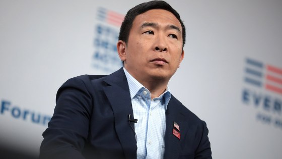 Andrew Yang offers to help WWE stars 'get what Vince owes you'