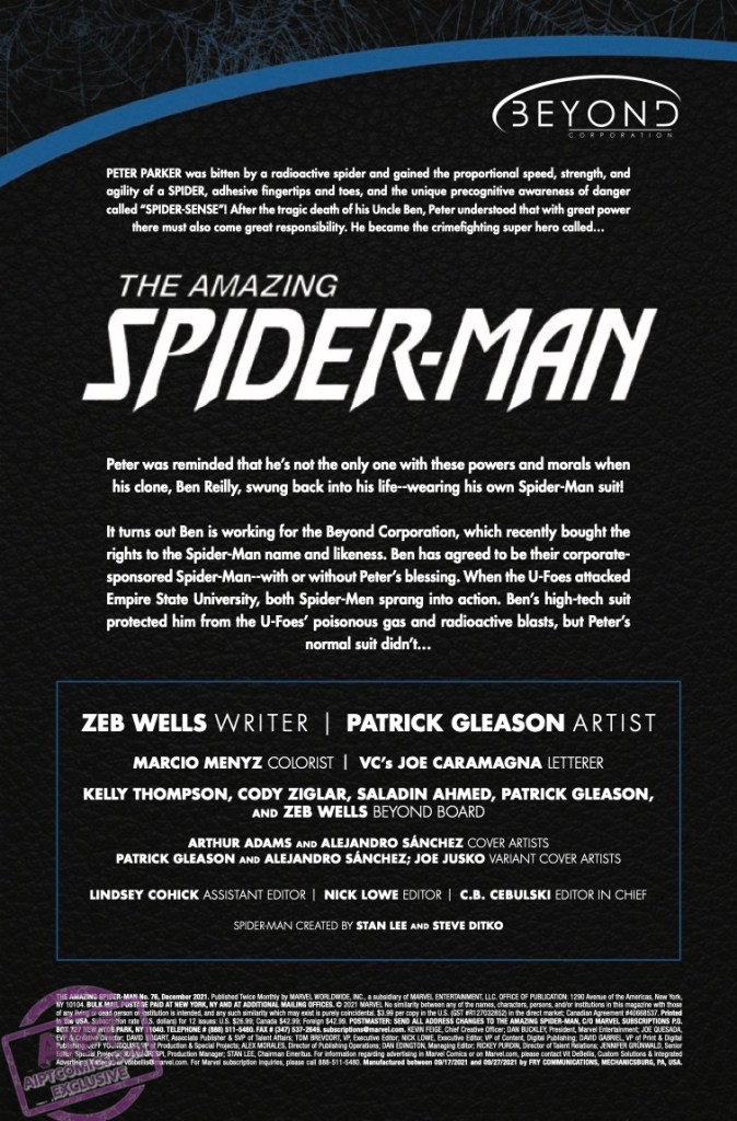 EXCLUSIVE Marvel Preview: Amazing Spider-Man #76