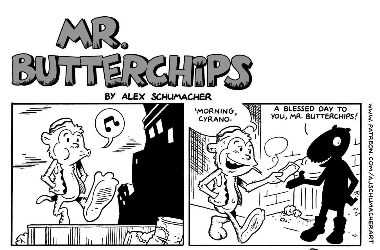 'Mr. Butterchips' webcomic review