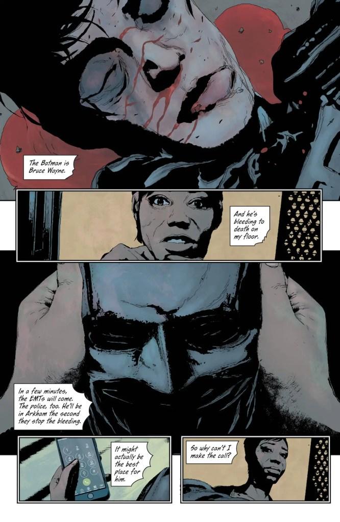 DC Preview: Batman The Imposter #1
