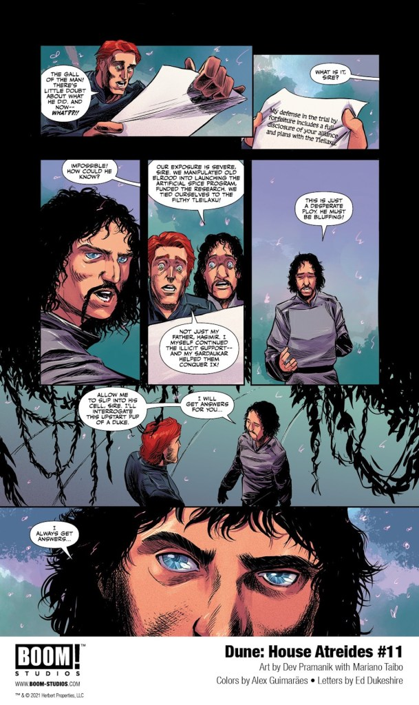 EXCLUSIVE BOOM! Preview: Dune: House of Atreides #11