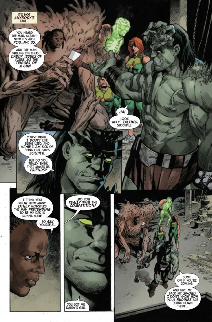 Marvel Preview: Gamma Flight #5