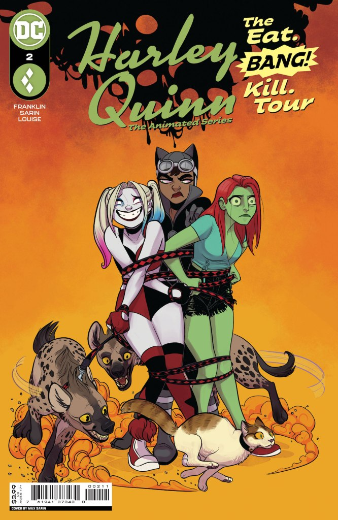 DC Preview: Harley Quinn The Animated Series The Eat Bang Kill Tour #2
