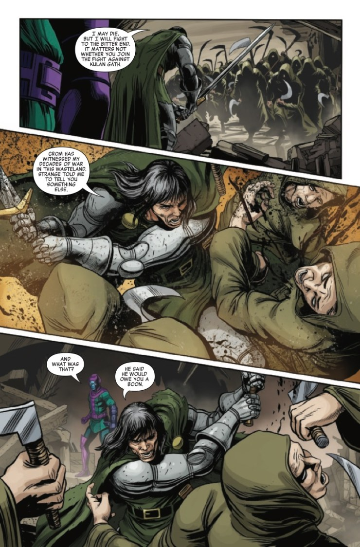 Marvel Preview: Savage Avengers #25