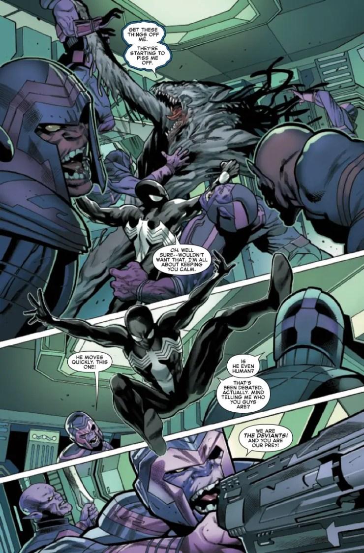 Marvel Preview: Symbiote Spider-Man: Crossroads #4