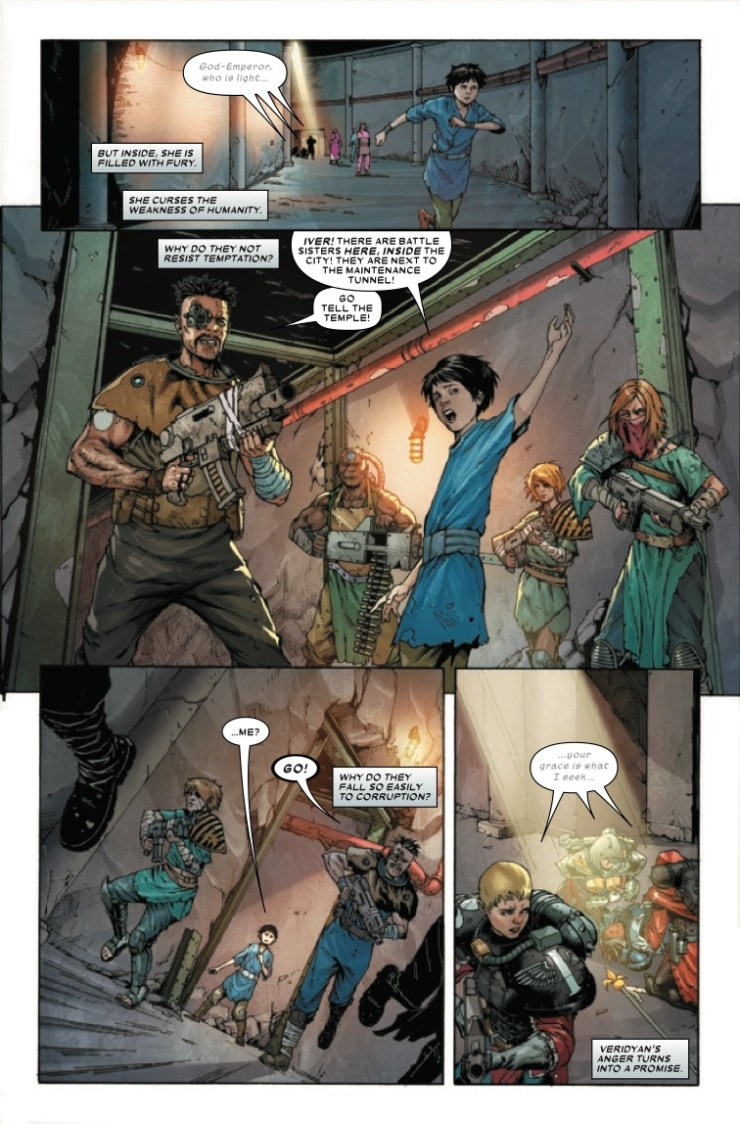 Marvel Preview: Warhammer 40,000: Sisters of Battle #3