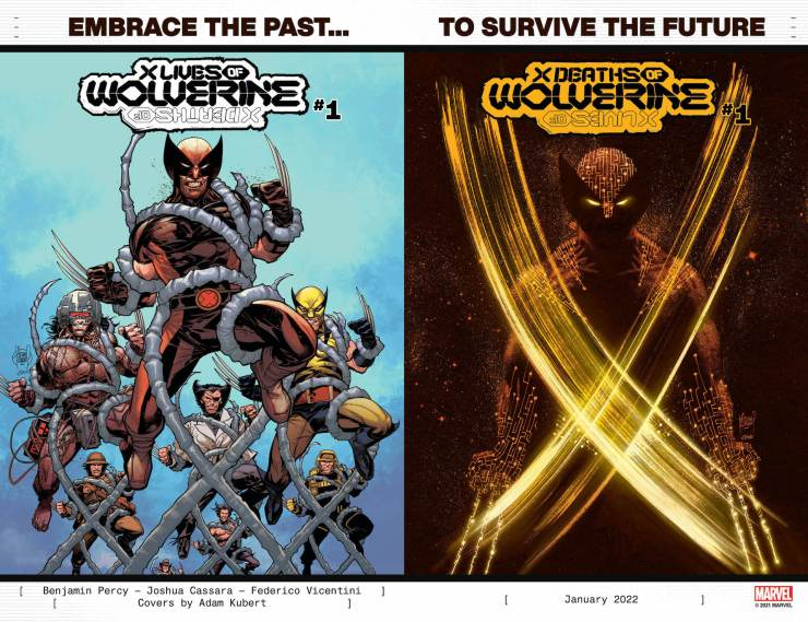 Marvel Comics teases 'X of Death Wolverine' and 'X Lives of Wolverine'