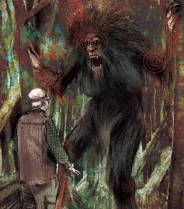 Paranormal Bigfoot in Department of Trush