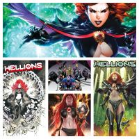 Madelyne Pryor takes over 'Hellions' #18 with newly revealed X-Men covers