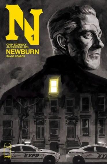 Chip Zdarsky sets his sights on sleek crime stories with 'Newburn'