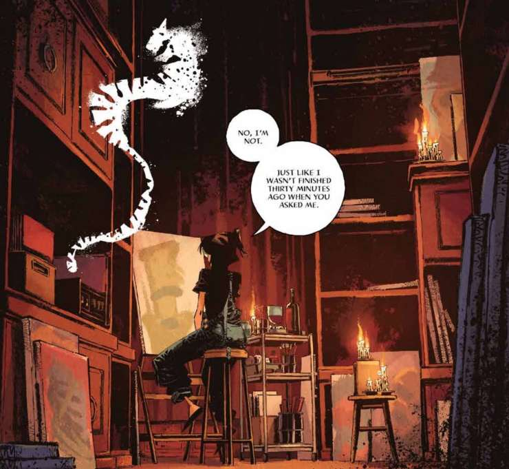 'Me You Love In The Dark' #3 review