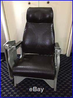 US Navy Aircraft Carrier Pilots Ready Room Chair  Air