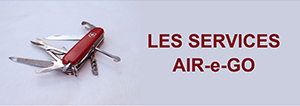 Les services de l'association d'entrepreneurs AIR e-GO !