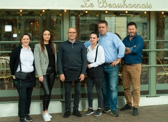 Equipe Restaurant Le Beauharnais