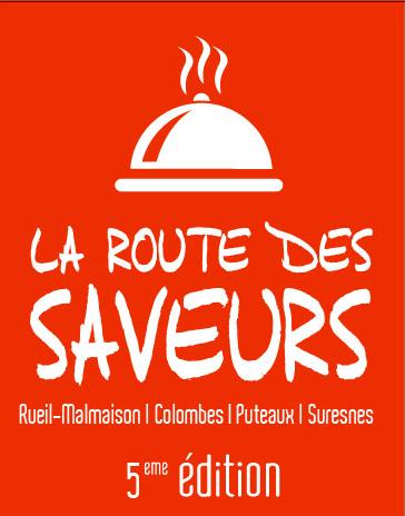 Logo de la 4ème route des Saveurs