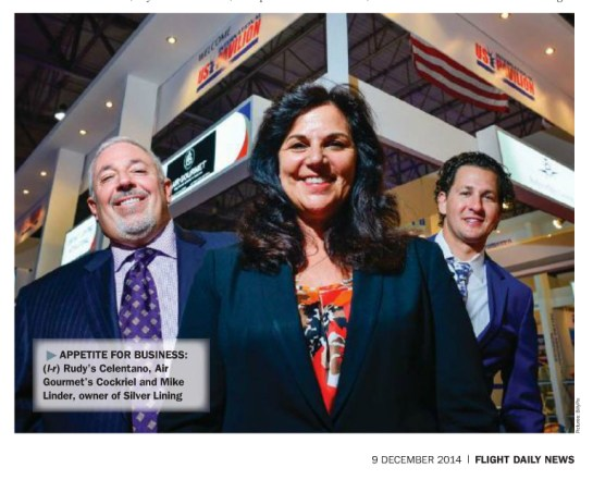 Newsmakers: Carla and team are featured in the MEBA show daily