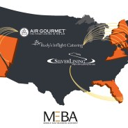 From coast to coast to coast: The finest inflight catering across America.
