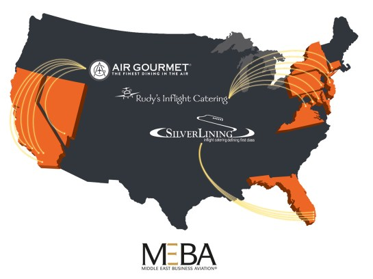 Air Gourmet is proud to partner with Rudy's Inflight and Silver Lining Catering