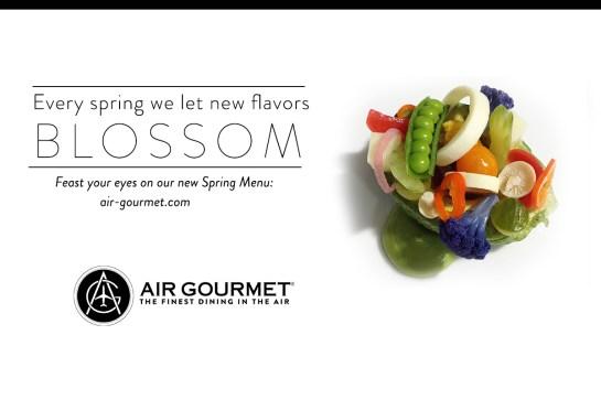 Air Gourmet Spring Inflight Catering Menu