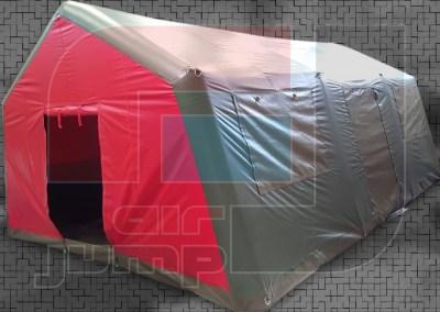Carpa Sanitaria Tensoinflable 5m x 7m