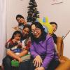豹柄の中村家にもメリークリスマス。
