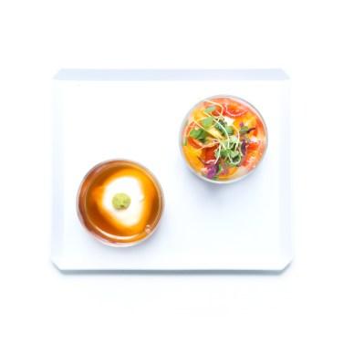 二種のブラッターチーズ WASABI & トマトバジル