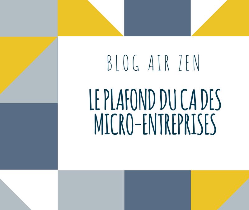 Doublement du plafond de CA des Micro-entrepreneurs ?
