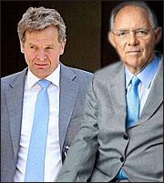 Τόμσεν - Σόιμπλε σπρώχνουν για νέα ΜοU - Οι διχογνωμίες των δανειστών