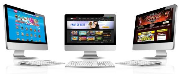 オンラインカジノにも色んなカジノがある