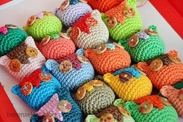 Gufi bottoni e colori  Airali