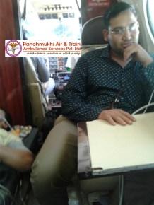 Panchmukhi Air Ambulance from Delhi