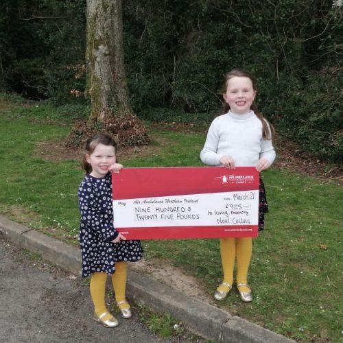 £925 raised in loving memory of Noel Collins
