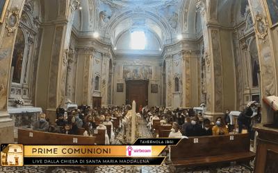 Airbeam supporta la parrocchia di Tavernola Bergamasca nel trasmettere la diretta delle Sante Comunioni