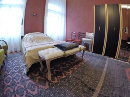 Pillow and bed - room in budapest