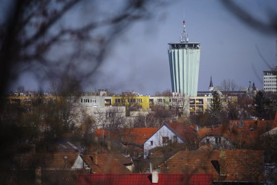 Cactus shaped water tower from Hungary