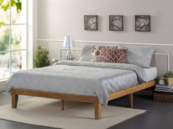 [Review] Zinus 12 Inch Wood Platform Bed