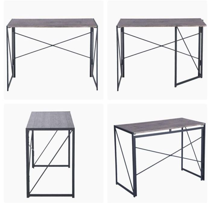 [Review] Coavas Industrial Style Folding Laptop Table