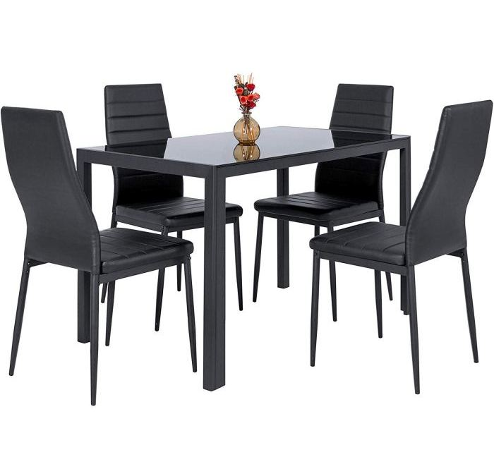 [Review] BCP 5 Piece Kitchen Dining Table Set