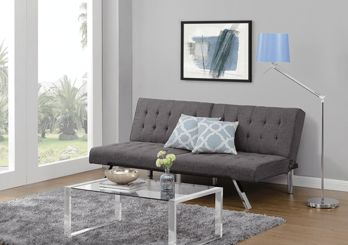 [Review] DHP Emily Convertible Futon Bed