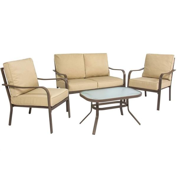 [Review] BCP 4 Piece Cushioned Patio Furniture Set