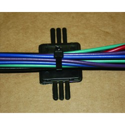 MARINE® Cable Tie Mounting Wire Harness Hanger For Standard Wires