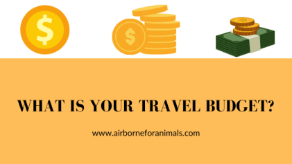 What is your travel budget - where in the world do I go next?