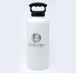Airborne outfitter white 64 oz. bottle