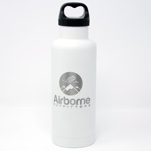 Airborne outfitter white 32 oz. bottle