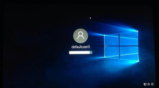 How To Fix the defaultuser0 Problem in Windows 10