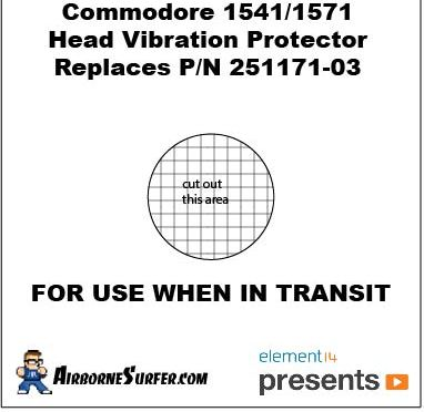 Replacement Transit Card for Commodore 64/VIC-1540/1541/1571