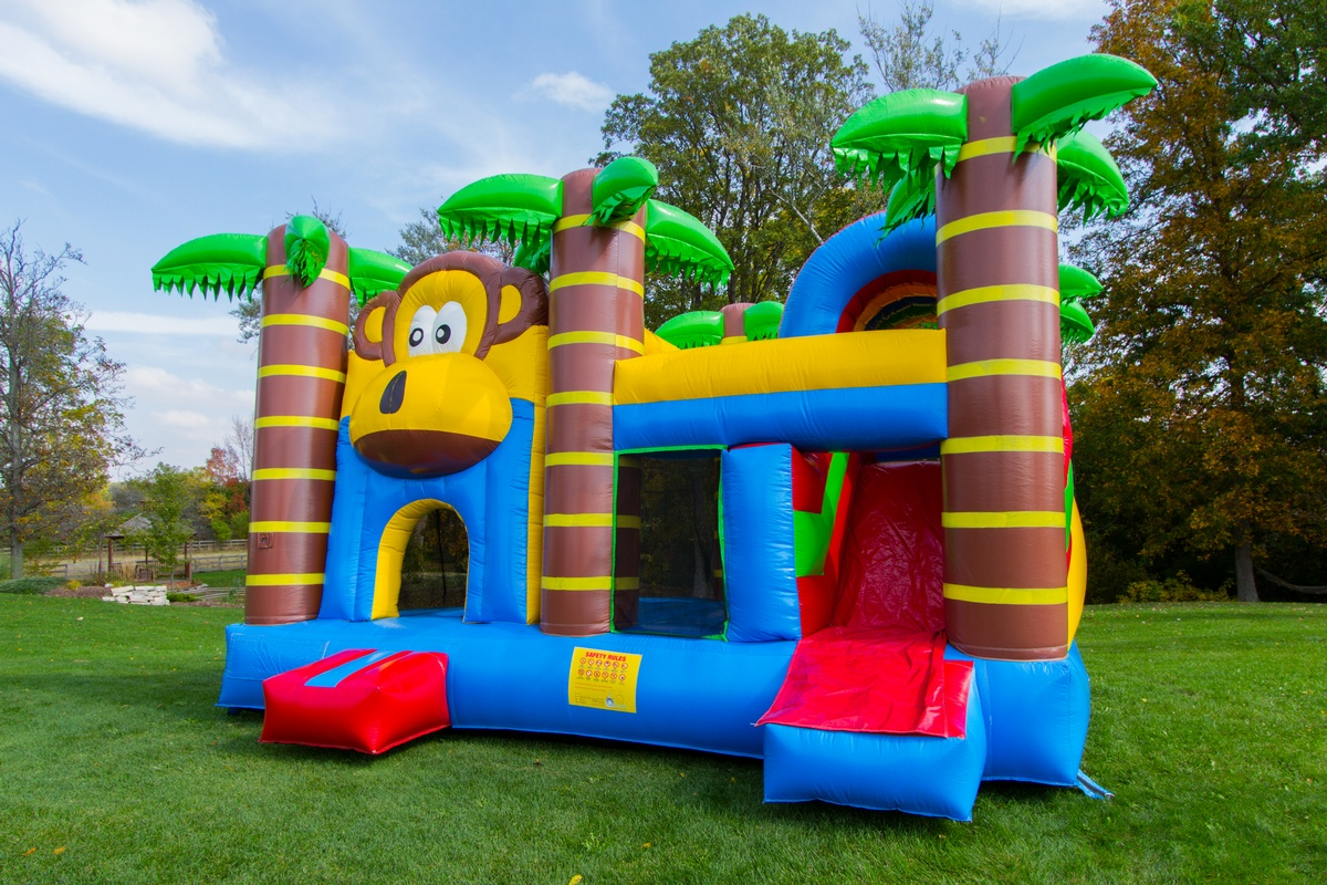 Monkey Combo 5 in 1  Air Bounce Inflatables  Party